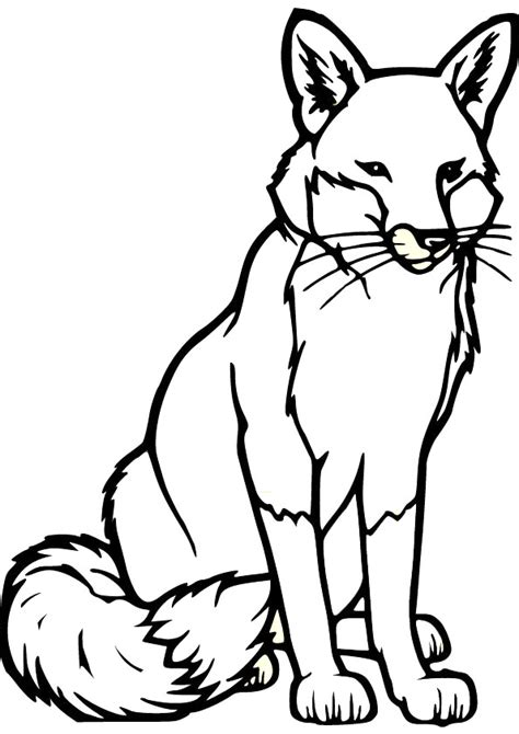 Free Coloring Pages Of Fox Mask Fox Coloring Pages