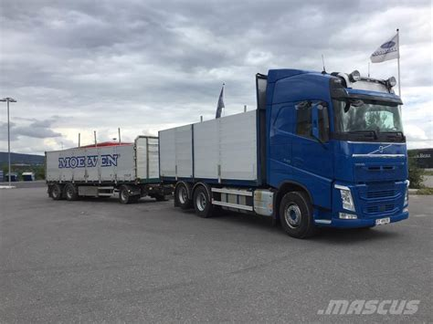 volvo fh 540 clasf used volvo fh 540 6x2 planbil flatbed dropside year