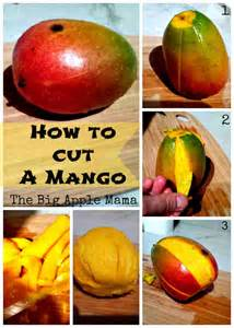 how to cut a mango in 3 easy steps the big apple mama