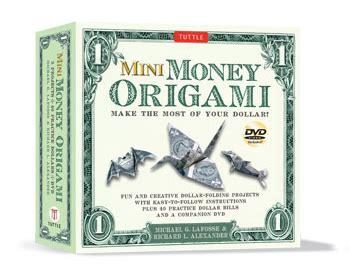 Dollar Bill Origami Book - origamido mini money origami kit