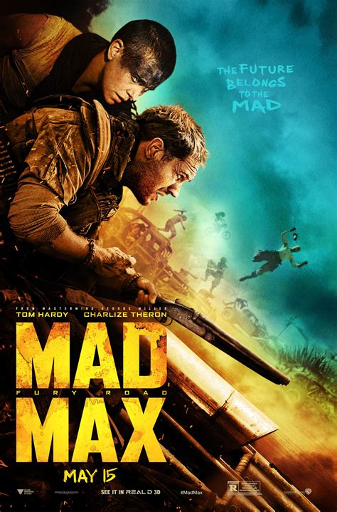 film mad max new movie poster for quot mad max fury road quot movies