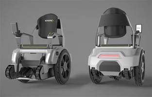 Electric Wheelchair That Climbs Stairs by The Scalevo Wheelchair Can Climb Stairs Technabob