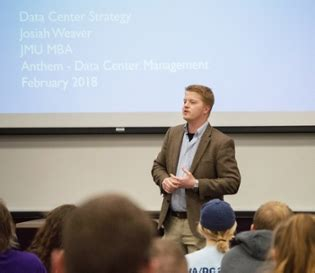 Jmu Mba Information Security by Cis Continues Guest Speaker Series