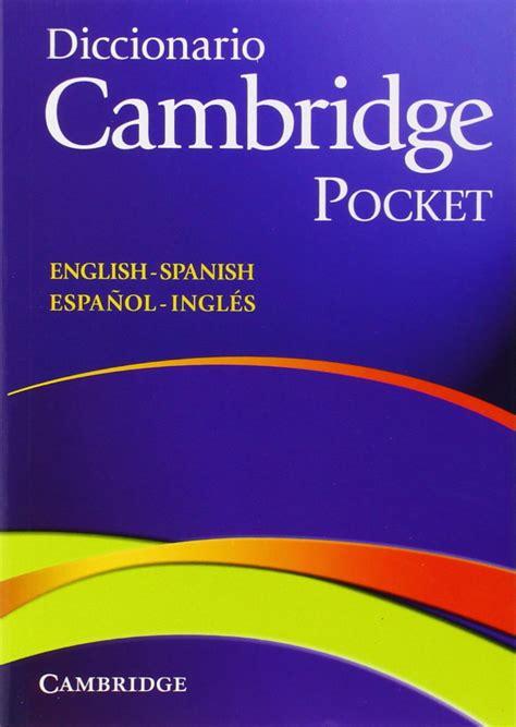 libro diccionario redes network dictionary diccionario ingl 233 s espa 241 ol cambridge pocket por s 243 lo 7 euros chollos descuentos y grandes