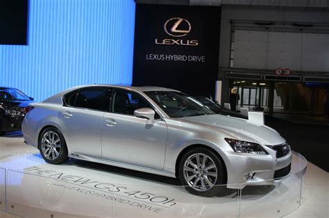 Lexus Dan Merk China autosalon brussel 2012 lexus gs450h groenlicht be