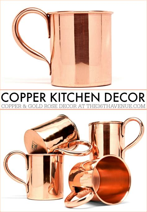 copper kitchen accessories copper kitchen decor guide the 36th avenue