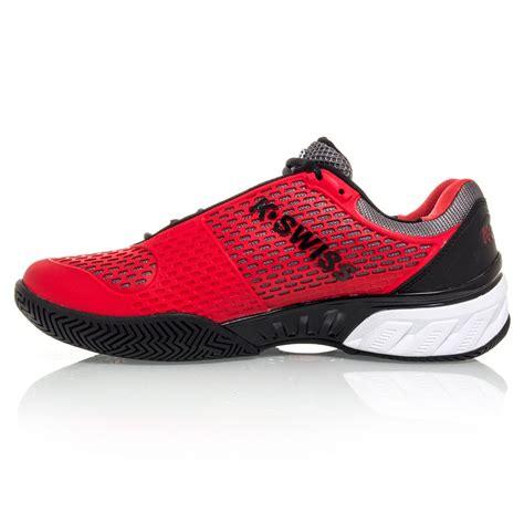k swiss bigshot ii mens tennis shoes black