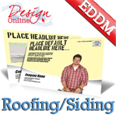 roofing and siding eddm templates