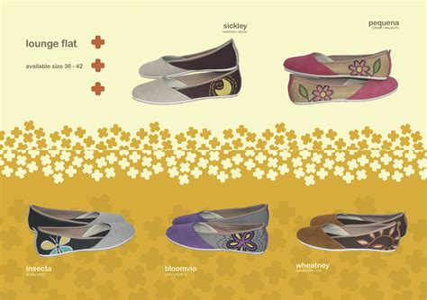 Sepatu Flat Bordir sepatu mimosabi lounge flat grosir
