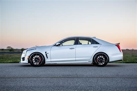 2020 Cadillac Cts V Horsepower by Hennessey Takes Cadillac Cts V To 1 000 Hp Autoevolution