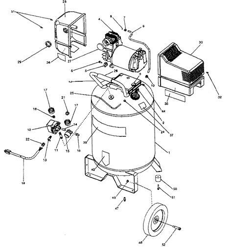 sears craftsman 919 165140 919 165130 air compressor parts