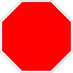 Stop Sign Template Free by File Blank Stop Sign Octagon Svg