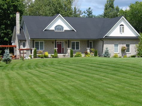Ranch Bungalow For Sale In Rural Essa The Barrie Real Log Home Plans Luxury