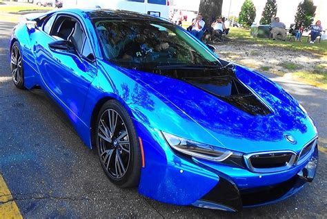 New Chrome Blue 2015 bmw i8 quot blue chrome quot cruisin the coast 2015