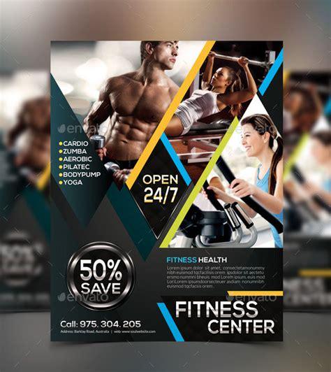 fitness flyer fitness flyer design template fitness