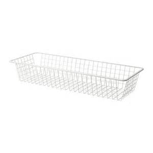 komplement wire basket with pull out rail 100x35 cm ikea