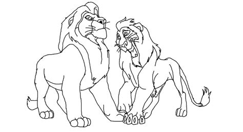image gallery lion king scar drawings