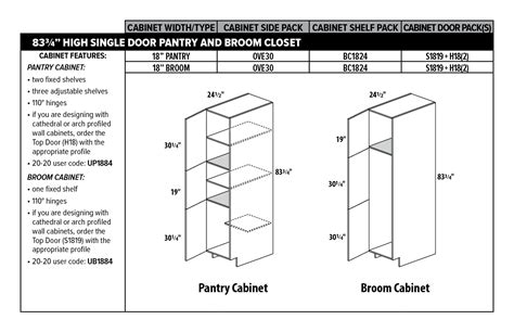 Kitchen Pantry Cabinet Sizes Creative Kitchen Pantry Cabinet Sizes 20 To Your Decorating Home Ideas With Kitchen Pantry