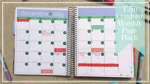 Erin Condren Calendar Erin Condren Hack Change Your Monthly Calendar Pages To