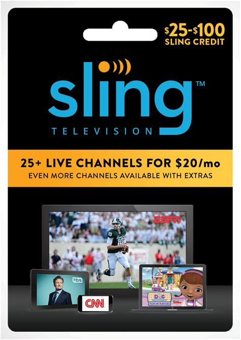 Sling Tv Gift Card Walmart - win 75 gift card for sling tv subscriptions now