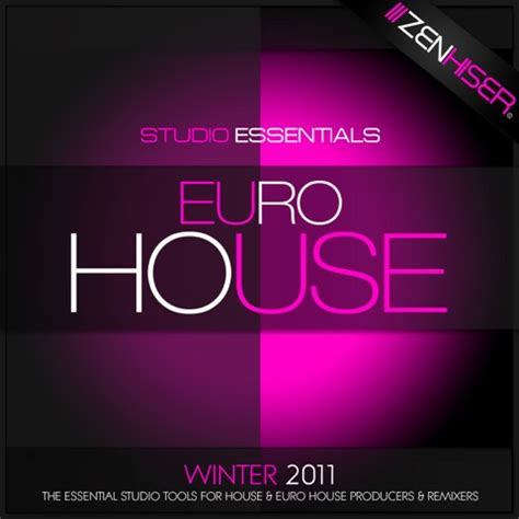 Zenhiser Studio Essentials Euro House Sle Pack