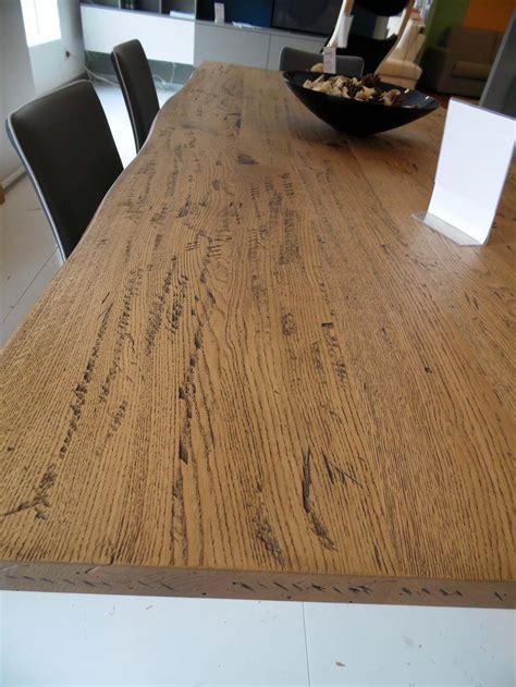 tavolo rovere massello tavolo in massello di rovere anticato effetto corteccia