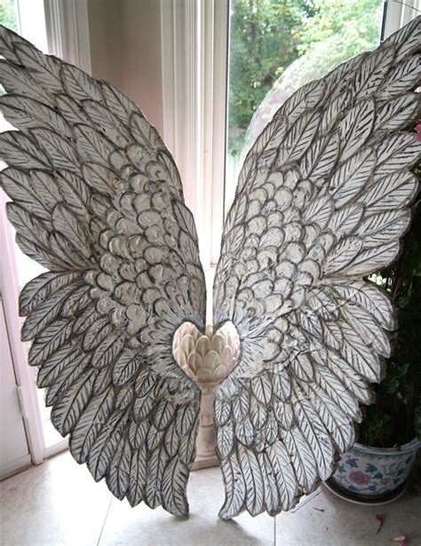 Ikea Alas Makan Pp Gray Leaves large wings crafted and sculpted lightweight wall hangings original design one of