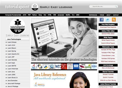 tutorialspoint html quiz 8 web design and development training sites brick by