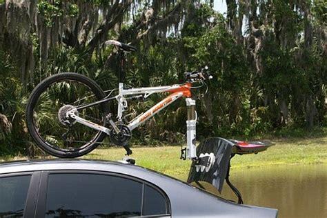 car mounted seasucker bike rack transports your bike