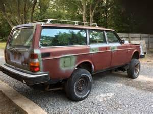 Volvo Diesel Wagon Daily Turismo Lifted Scout Transplant 1982 Volvo 245