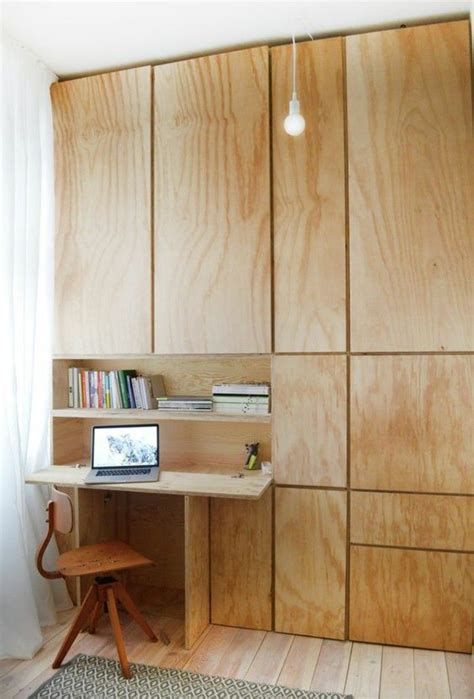 clever desk ideas fold out desk in the closet clever interior design ideas