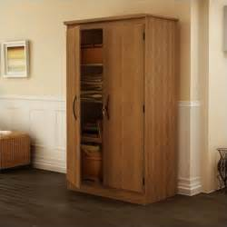 south shore park 2 door storage cabinet in cherry