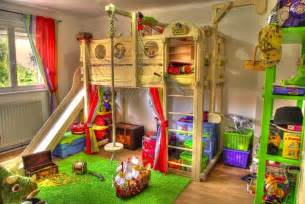 Kids Pirate Bedroom Ideas Toddler Bunk Beds That Turn The Bedroom Into A Playground