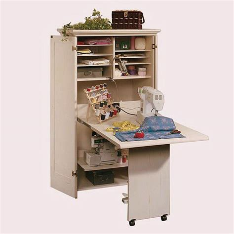 sewing machine armoire cabinet craft and sewing storage armoire perfect for your craft