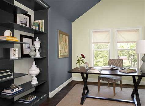 home office wall colors interior paint ideas and inspiration paint colors