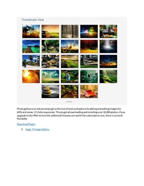 best gallery plugins for top 6 best gallery plugin for website