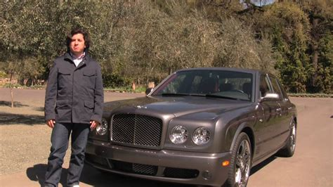 2009 bentley arnage 2009 bentley arnage t video review youtube