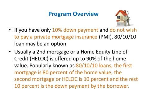 80 10 10 loan understanding the basics