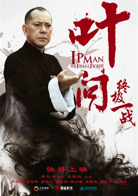 chinese film fighting photos from ip man the final fight 2013 movie poster