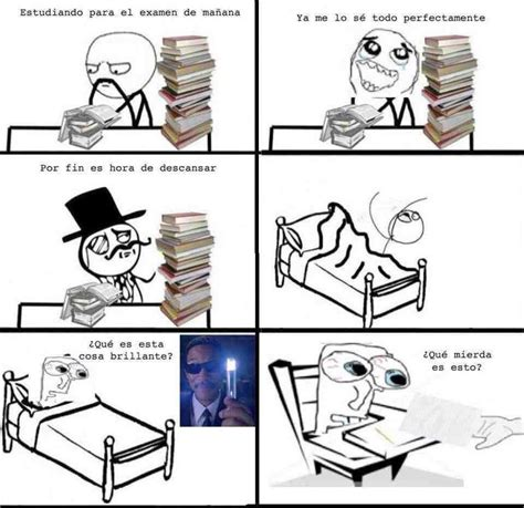 imagenes graciosas estudiando cuando estudias para el examen de noche memes humor12 com