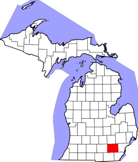 Washtenaw County Search File Map Of Michigan Highlighting Washtenaw County Svg Wikimedia Commons