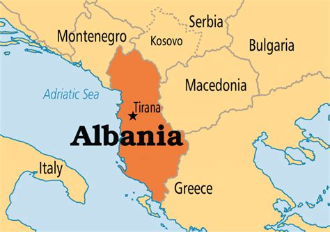 albania map 15 interesting facts about albania the tourist
