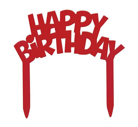 Birthday Cake Toppers by Happy Birthday Cake Topper Baxter Distributing Co Inc