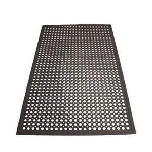 Anti Fatigue Floor Mats Black Anti Fatigue Beveled Floor Mat 3 X 5 X 1 2