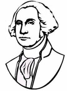 george washington colors president george washington coloring pages and