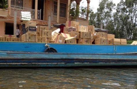 casino boat ta penetrating into the territory of smugglers in an giang