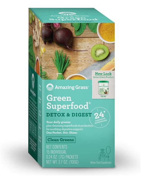 Green Superfood Detox And Digest Reviews by Amazing Grass Green Superfood Multivitamin