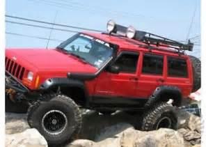 jeep xj 1984 2000 snorkel ebay