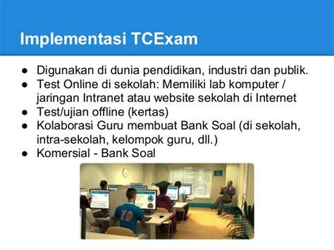 membuat website intranet bayu w tcexam membuat bank soal dan test online