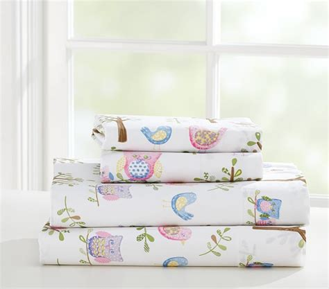Hayley Nursery Bedding Set Hayley Sheet Set Pottery Barn